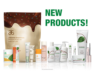 The Best New Products at Arbonne